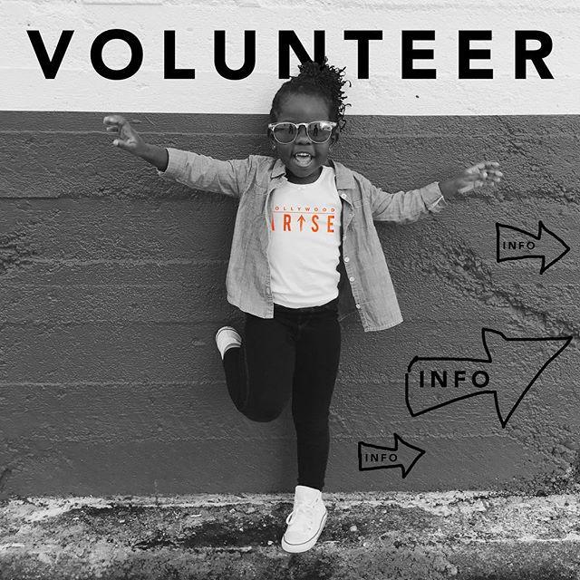 Hollywood Arise Volunteer